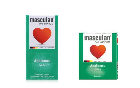 анатомические презервативы Маскулан фото