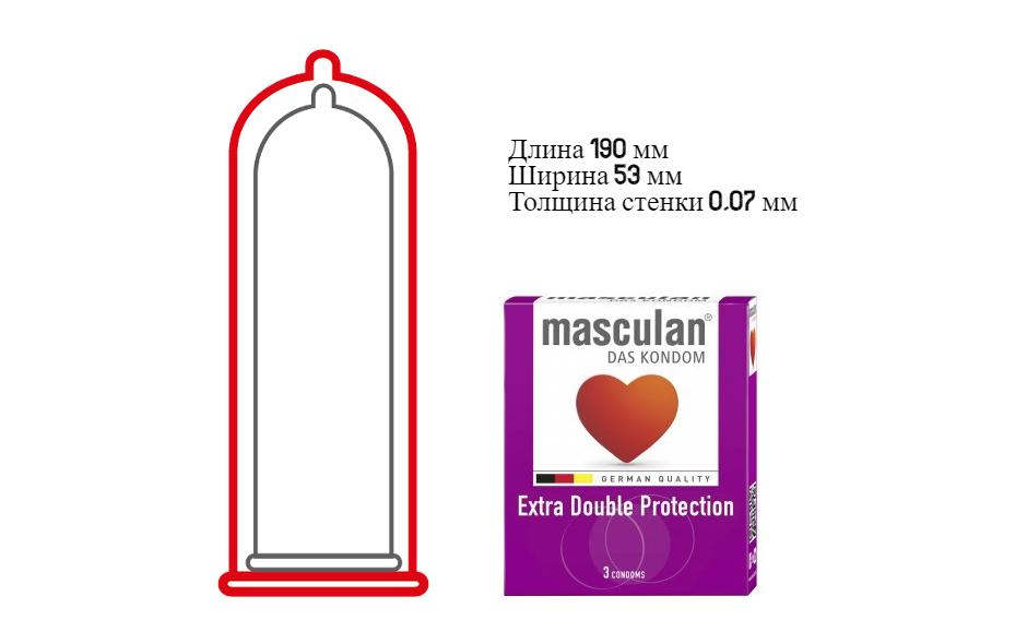 маскулан double protection фото